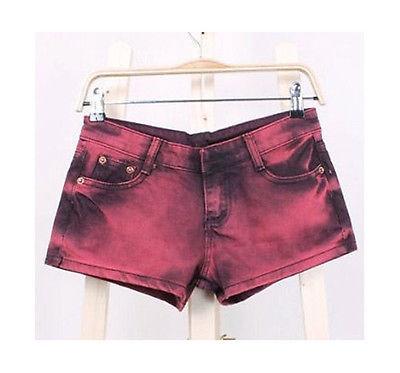 Ladies Denim Shorts RED Size 31 (AU 10)