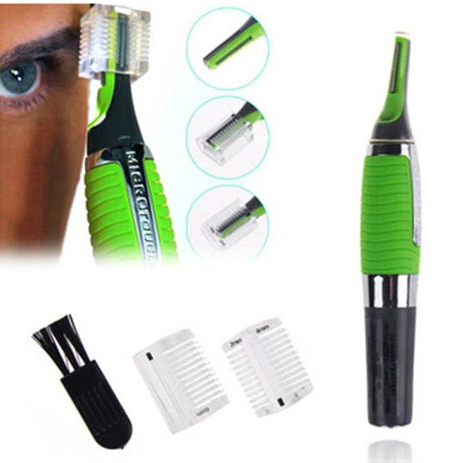 2 x All In One Personal Trimmer Groomer Micro Touch Hair Remover Kits