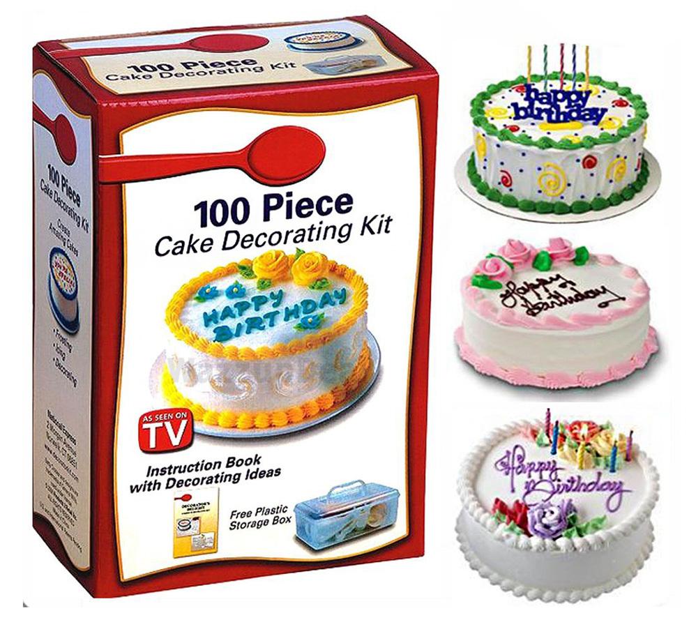 100-Piece Cake Decorating Tool Kit