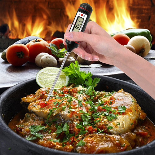 Food BBQ Cooking Digital Probe Thermometer
