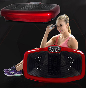 XL Full Body Shaper Vibration Machine Platform Bio-Magnetic Plate