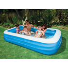 Intex large inflatable family swimming pool for Intex swimming pools australia