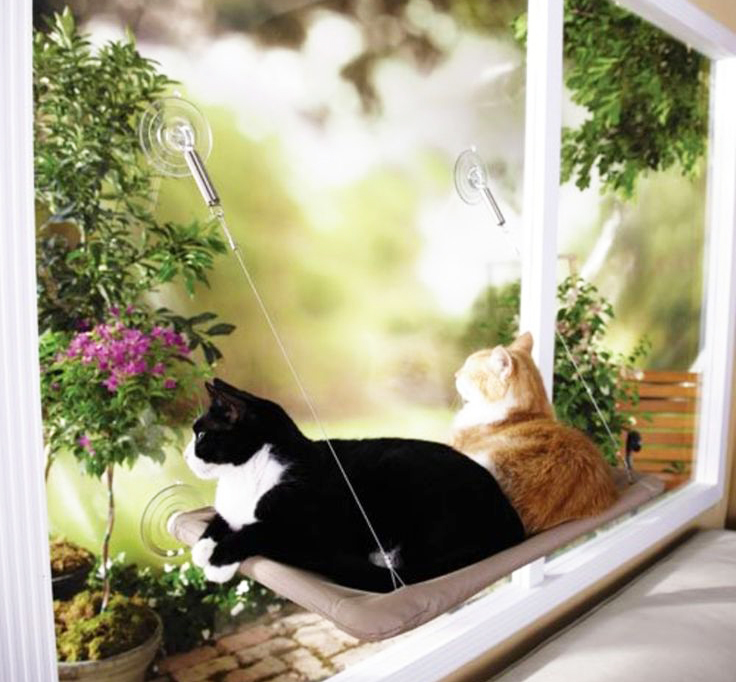 Sunny Seat Window Mounted Cat Bed Pet Hammock