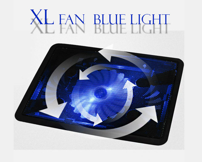 XL Fan Laptop Notebook Holder Cooling Pad Stand