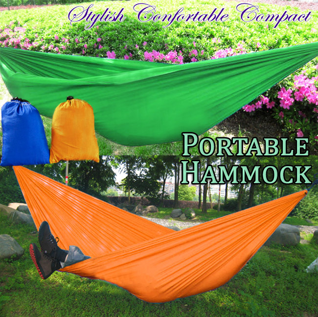 Portable Lightweight Fabric Hammock