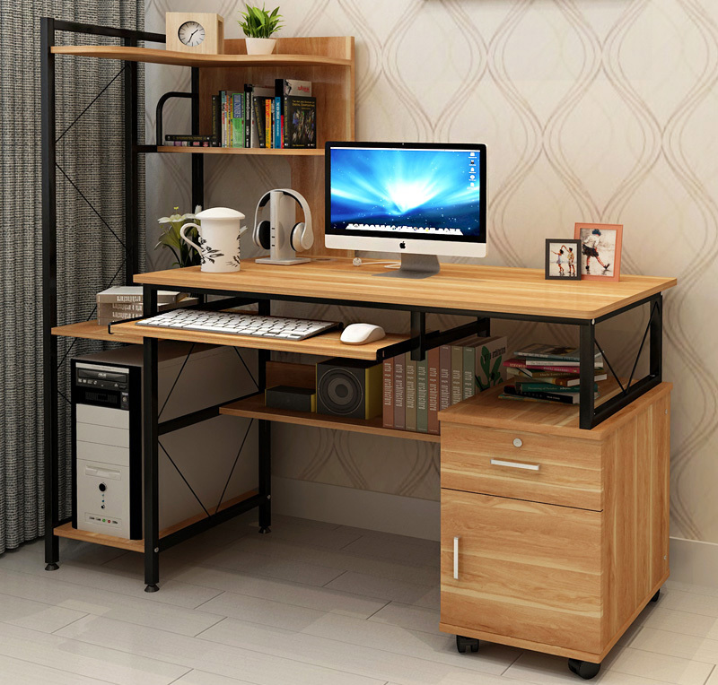 Prime Large Multi Function Computer Desk Workstation With ...