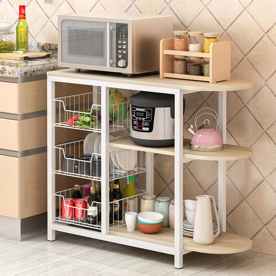 Continental Stylish Kitchen Benchtop Storage Shelf & Bench