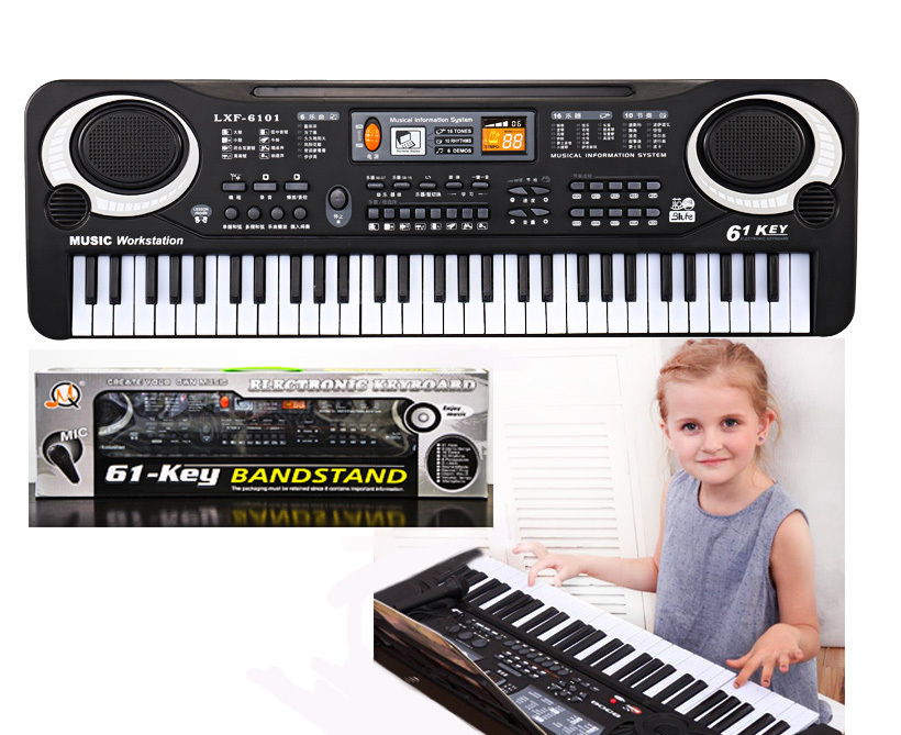 61 Keys Mini Electronic Musical Keyboard Piano