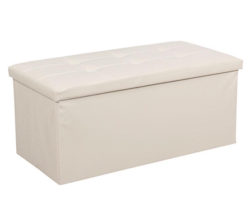 Wondrous Premium Pu Leather Ottoman Foldable Storage Stool Pdpeps Interior Chair Design Pdpepsorg