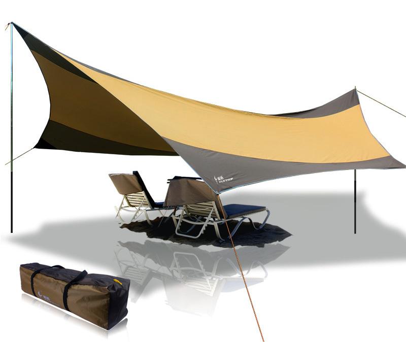 Large Sun Shade Sail Kit
