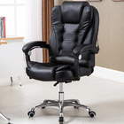 Apex Deluxe Executive Reclining Office Chair (Black)