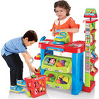 Deluxe Supermarket Toy Set with Shopping Cart/Trolley