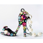 Gorgeous Rhinestone High Heel Shoe Charm Crystal Bead Phone chain