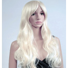 Blonde Long Curly Wig Natural Wavy