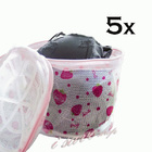 5x Bra Wash Bag Lingerie Laundry Mesh Washing Bag for Bras