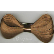 5 x LADY GAGA BOW Hair Clip (1 of Each Colour-Black,Blonde,Copper,Auburn,Dark Brown)