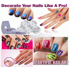 Professional Salon Nail Art Stamping Decorate Kit 40 Designs