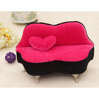 Luxury Sofa  Jewellery Box Lounge Cosmetic Storage Case Organizer Gift
