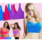 3 x Pack Seamless Sports Bras