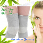 Premium Bamboo Knee Brace Support Protection Guard Sports Fitness Gym Health