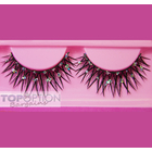 1 Pair Faux Eye Lash with Diamantes