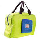 Street Shopper Foldable Bag (Green & Blue)