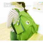 3 Way Easy-to-Carry Foldable Bag (GREEN)