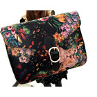 Baroque Vintage Flowers Oil Painting Shoulder Bag