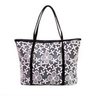 Lace Tote Handbag (Black)