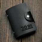 Leather Look Credit Card Holder (Black)