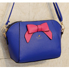 Sweet Bow Shoulder Bag (Blue & Pink)