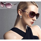 Polarized Ladies Sunglasses with Bonus Case (Purple)
