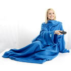 NEW Snuggle Sleeved Cuddle Blanket [Blue]