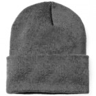 Comfortable Unisex Men's Women's Beanie (GREY)