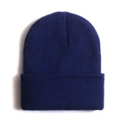 Comfortable Unisex Men's Women's Beanie (NAVY BLUE)