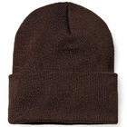 Comfortable Unisex Men's Women's Beanie (BROWN)