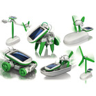 6 In 1 Solar Robot DIY Educational Toy Kit