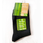Bamboo Fiber Socks Natural Antibacterial (BLACK)