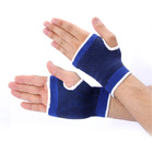 2 x Elasticised Palm Hand & Wrist Support Brace