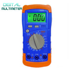 Blue Backlight LCD Digital Multimeter Electrical Tester Voltmeter Ammeter Ohmmeter