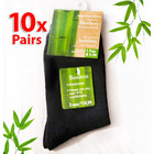 10 x Bamboo Fiber Socks Natural Healthy Antibacterial