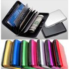 Aluminum Wallet RFID Scan Proof