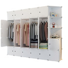 XXL DIY Cube Storage Cupboard Combination Wardrobe
