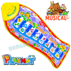 Musical Fish Piano Baby Play Mat