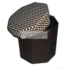 PU Leather Storage Stool Foldable Organizer