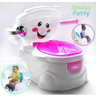 Smiley Face Potty Toddler Toilet Trainer Pink