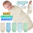 Cotton Baby Magic Swaddle Blanket Wrap 0- 4 Months