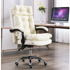 President Premium Executive Reclining Office Chair (White)