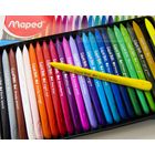Maped Plastic Crayons 24 Colours