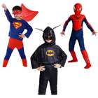 Kids Superhero Costume (Superman, Spiderman, Batman)